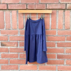 OLD NAVY navy blue baby doll dress